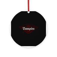 Vampire Eternal Ornament (Round)