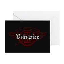 Vampire Eternal Greeting Card