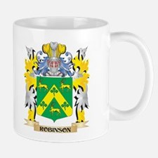 Robinson Family Crest - Coat of Arms Mugs