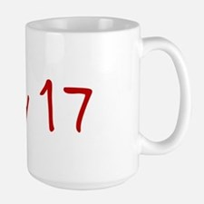 """July 17"" printed on a Mug"