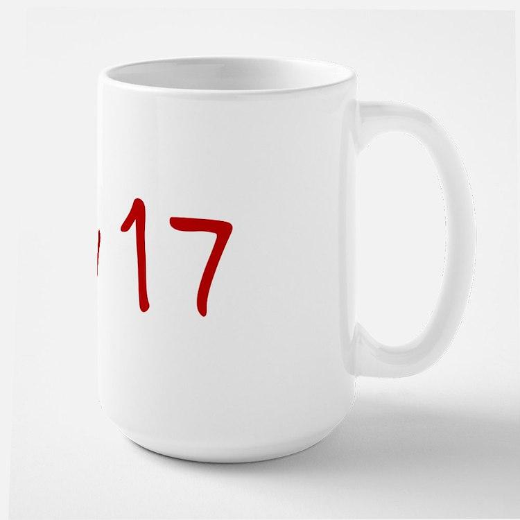 """July 17"" printed on a Mug"