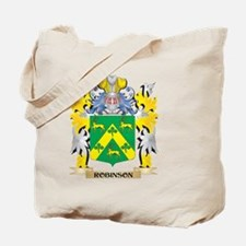 Robinson Family Crest - Coat of Arms Tote Bag