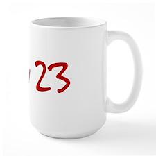 """July 23"" printed on a Mug"