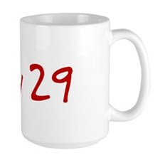 """July 29"" printed on a Mug"