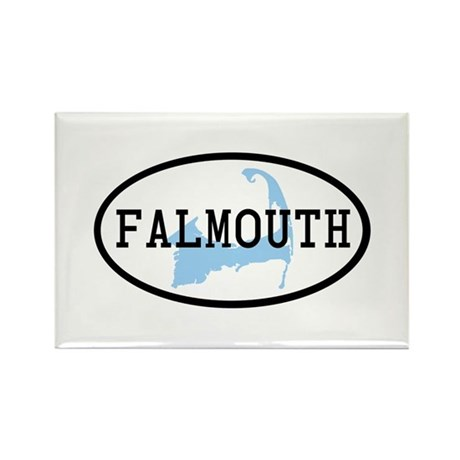Falmouth Rectangle Magnet