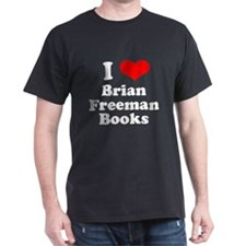 Dark T shirt Heart T-Shirt