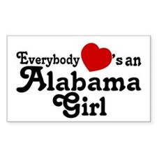 Everybody Hearts an Alabama G Decal