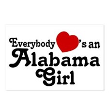 Everybody Hearts an Alabama G Postcards (Package o