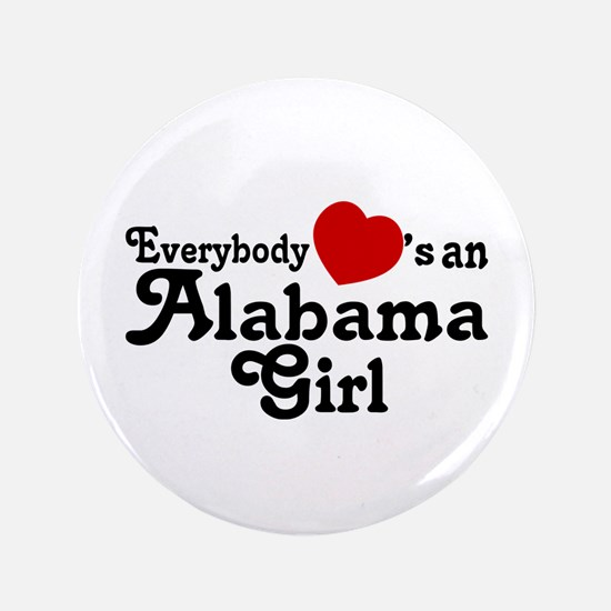 "Everybody Hearts an Alabama G 3.5"" Button"