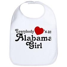 Everybody Hearts an Alabama G Bib