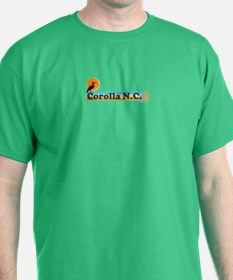 Corolla NC - Beach Design T-Shirt