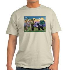 St. Francis & Giant Schnauzer T-Shirt