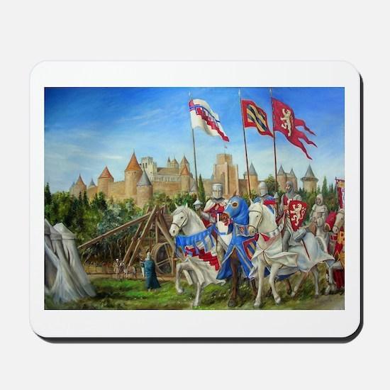 Siege of Carcassonne Mousepad