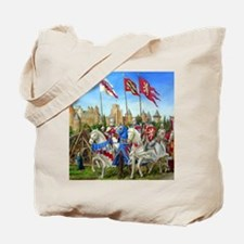 Siege of Carcassonne Tote Bag