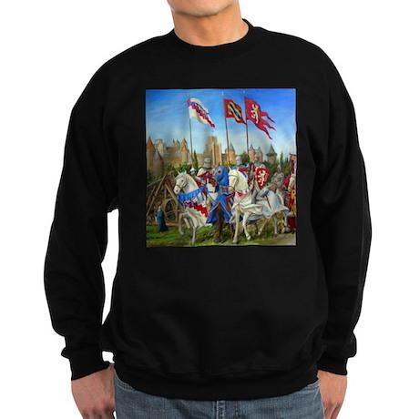 Siege of Carcassonne Sweatshirt (dark)
