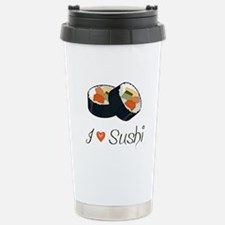 Sushi Stainless Steel Travel Mug