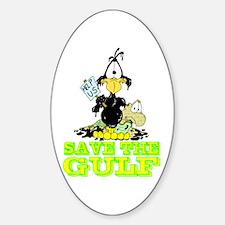 Save the GULF Sticker (Oval)