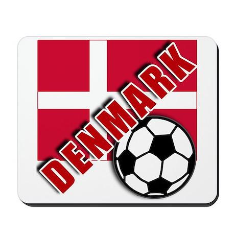 World Soccer Denmark Mousepad