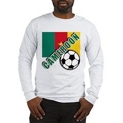 World Soccer CAMEROON Long Sleeve T-Shirt