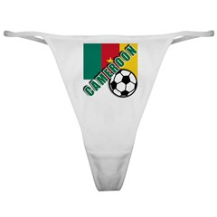 World Soccer CAMEROON Classic Thong