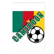 World Soccer CAMEROON Postcards (Package of 8)
