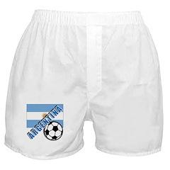 World Soccer Argentina Boxer Shorts