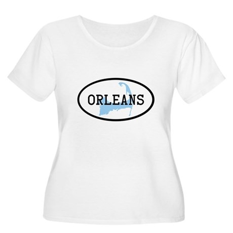 Orleans Women's Plus Size Scoop Neck T-Shirt