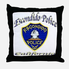 Escondido Police Throw Pillow