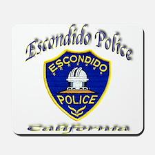 Escondido Police Mousepad