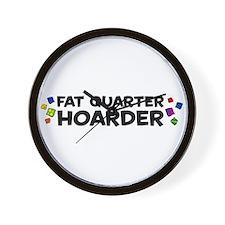 Quarter Hoarder Wall Clock