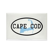 Cape Cod Rectangle Magnet