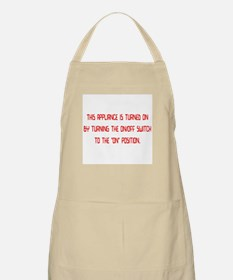 on/off switch Apron