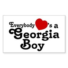 Everybody Hearts a Georgia Bo Decal