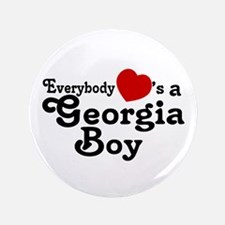 """Everybody Hearts a Georgia Bo 3.5"""" Button"""