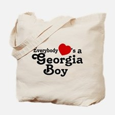 Everybody Hearts a Georgia Bo Tote Bag