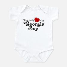 Everybody Hearts a Georgia Bo Infant Bodysuit