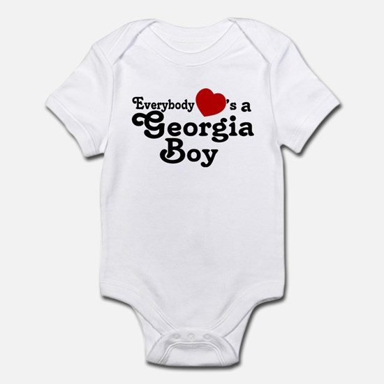 Everybody Hearts a Georgia Bo Infant Bodysuit