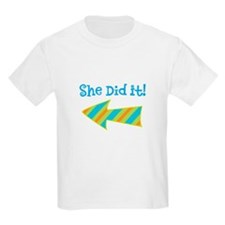 SheDidIt T-Shirt