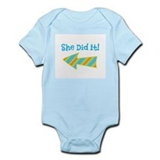 SheDidIt Infant Bodysuit