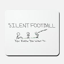 Silent Football Mousepad