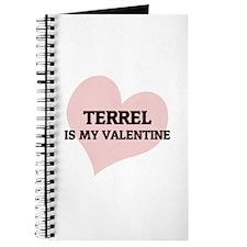 Terrel Is My Valentine Journal