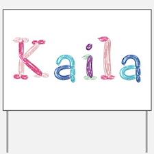 Kaila Princess Balloons Yard Sign