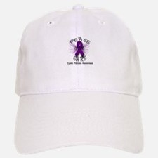 Cystic Fibrosis Awareness Pea Baseball Baseball Cap