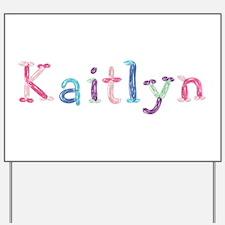 Kaitlyn Princess Balloons Yard Sign