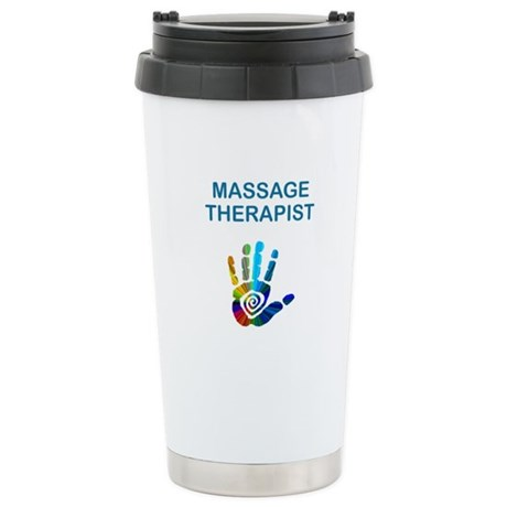 MASSAGE THERAPIST Stainless Steel Travel Mug