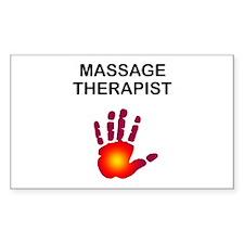 Massage Therapist Decal