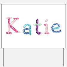 Katie Princess Balloons Yard Sign