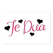 Te Dua Postcards (Package of 8)