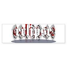 Gothic Eclipse Bumper Sticker