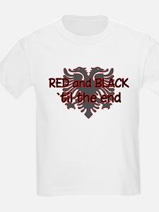 Red & Black Kids T-Shirt